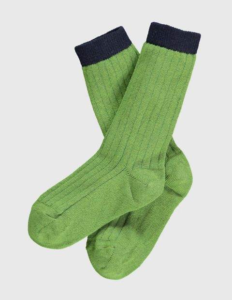 Socken Pumpkin, Grün