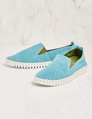 Deerberg Slipper Adelissa blau