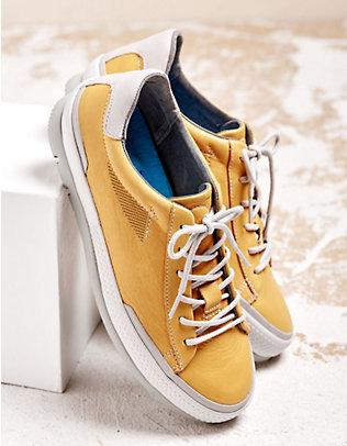 Wolky Sneaker Katla gelb