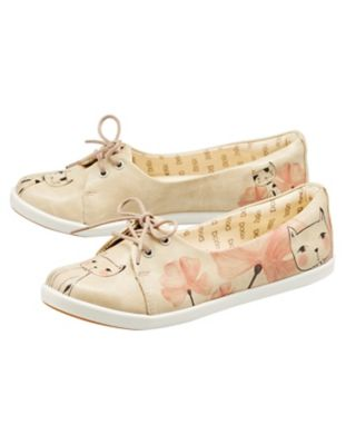 Dogo-Shoes Ballerinas Mr. and Mrs. Cat bunt