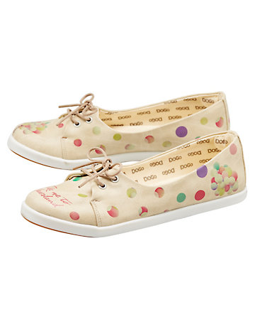 Dogo-Shoes Ballerinas Take Me to Neverland bunt