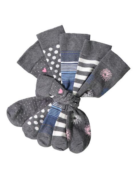 Image of Sympatico 5er Pack Socken Filine, Grau