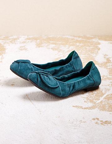 Think Ballerinas Gisa petrol