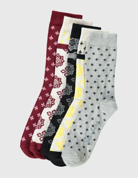 Image of Deerberg 5er Pack Socken Dana, Bunt