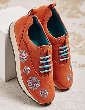 Deerberg Sneaker Fanny orange