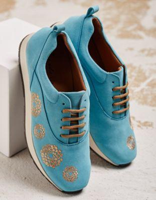 Deerberg Sneaker Fanny türkis