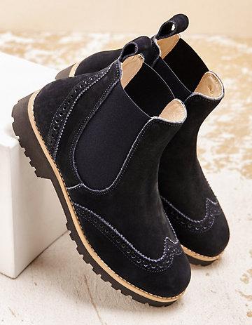 Schuhe Boots Leder Chelsea Zalando Stiefeletten in Hannover