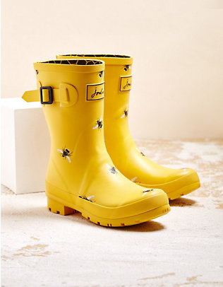Joules Stiefel Mollywelly gold