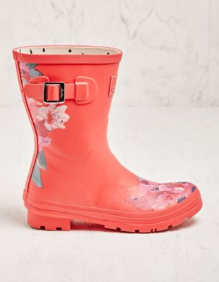 Joules Stiefel Mollywelly rot