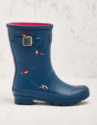 Joules Stiefel Mollywelly petrol