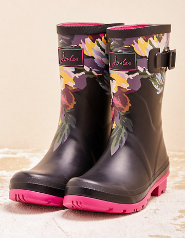 Joules Stiefel Mollywelly schwarz