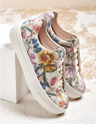 Legero Sneaker Lima weiß-geblümt