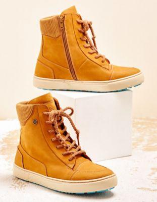 Chaaya Sneaker Buffy senf