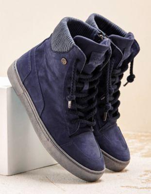 Chaaya Sneaker Buffy blau