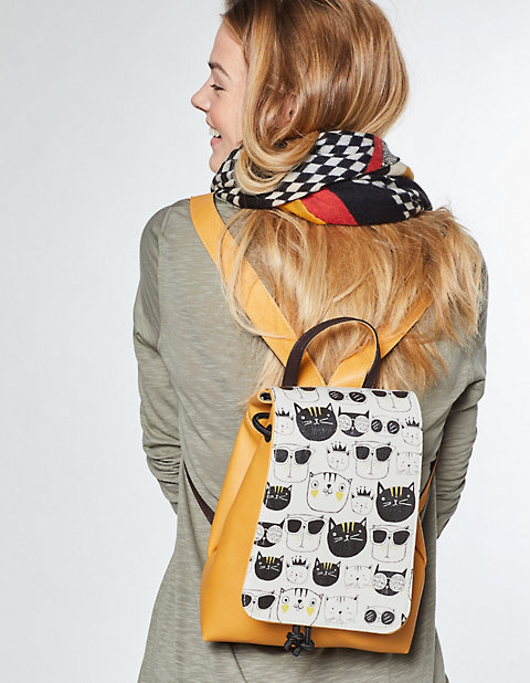 Rucksack Monochrome Cats von Dogo Shoes in bunt | Deerberg