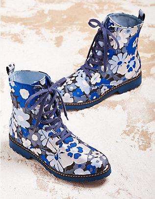 Deerberg Stiefeletten Arianda blau