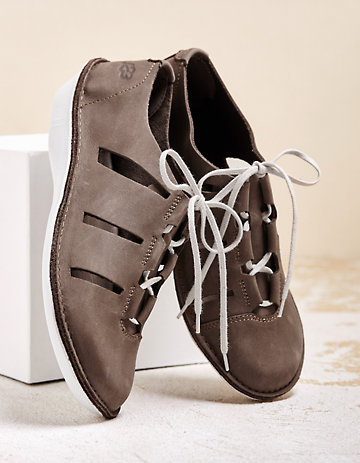 Loints of Holland Halbschuhe India taupe
