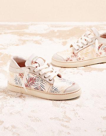 Chaaya Sneaker Ailika weiß-bunt
