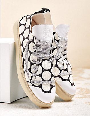 Chaaya Sneaker Aluna schwarz-weiß