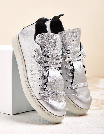 Chaaya Sneaker Aluna silber