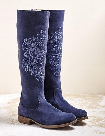 Deerberg Stiefel Warja jeansblau