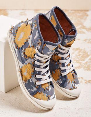 Deerberg Sneaker Dayana jeansblau