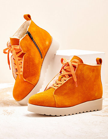 Deerberg Stiefeletten Giuliane orange