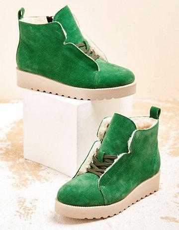 Deerberg Stiefeletten Giuliane grün