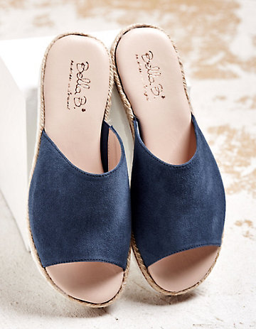 Bella B Pantoletten Tonja jeansblau