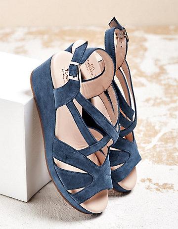 Bella B Sandalen Geerta jeansblau