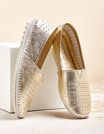Aerobics Slipper Jaella gold
