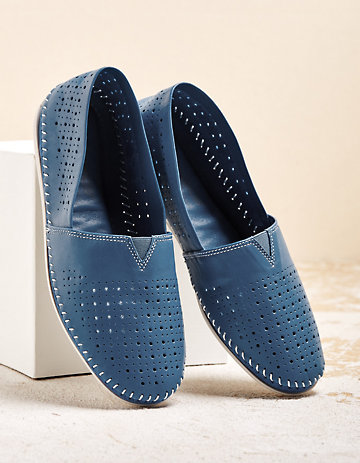 Aerobics Slipper Jaella blau