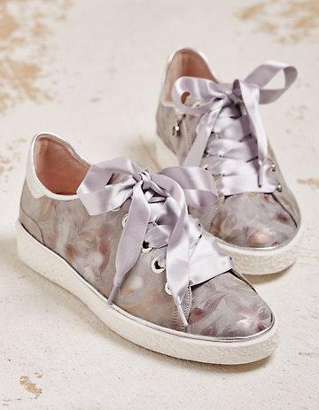 Softwaves Sneaker Mailina hellgrau