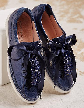Softwaves Sneaker Orietta blau