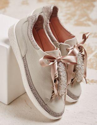 Softwaves Sneaker Orietta hellgrau