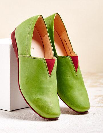 Think Slipper Caramida grün