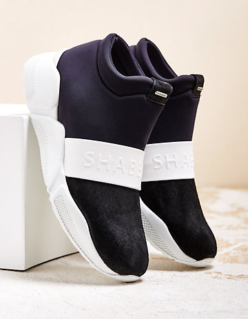 Shabbies Amsterdam Sneaker Magan schwarz