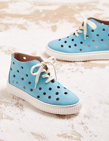 Deerberg Sneaker Larkin türkis