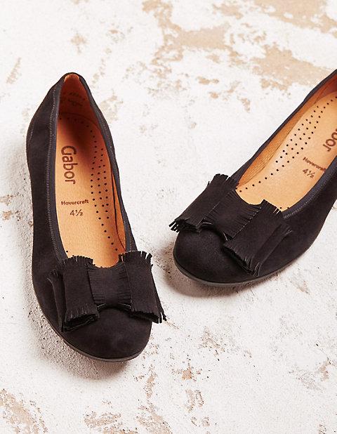 Ballerinas Ailisia | Schuhe > Ballerinas | Velours | Gabor