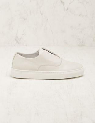 Deerberg Leder-Sneaker Bronia creme