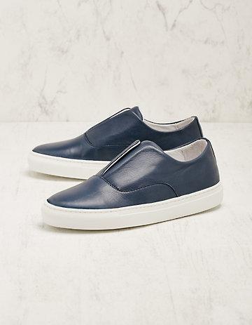 Deerberg Leder-Sneaker Bronia marine