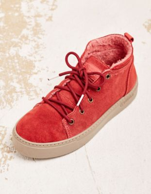 Natural World Sneaker Thilla rot