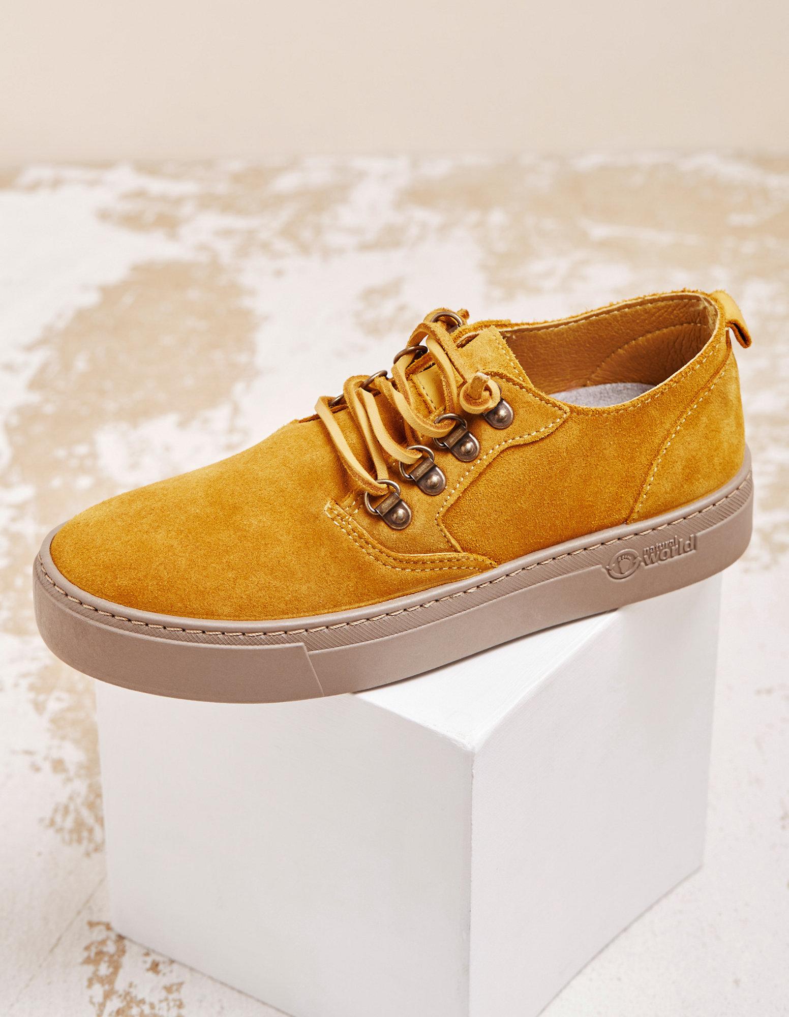 Shop für Damenmode : Senf Betreiben Offene Leder Hohe Schuhe