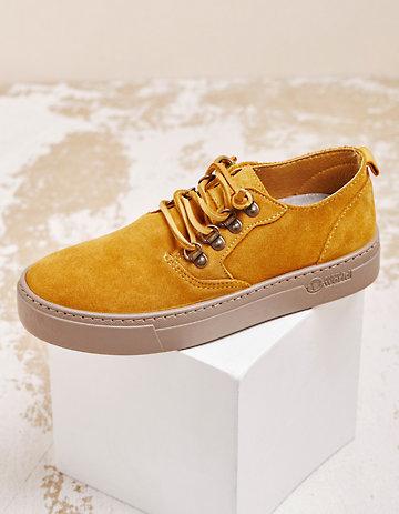 Natural World Sneaker Tora senf