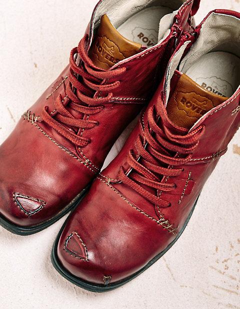 Stiefeletten Gillys von Rovers in rot | Deerberg