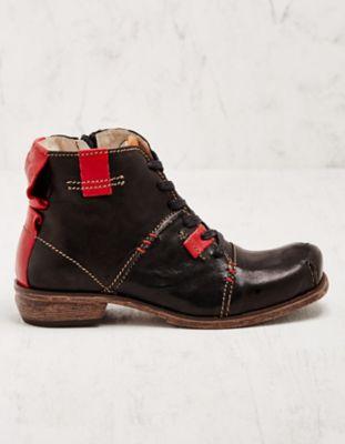 Rovers Stiefeletten Gillys schwarz-rot