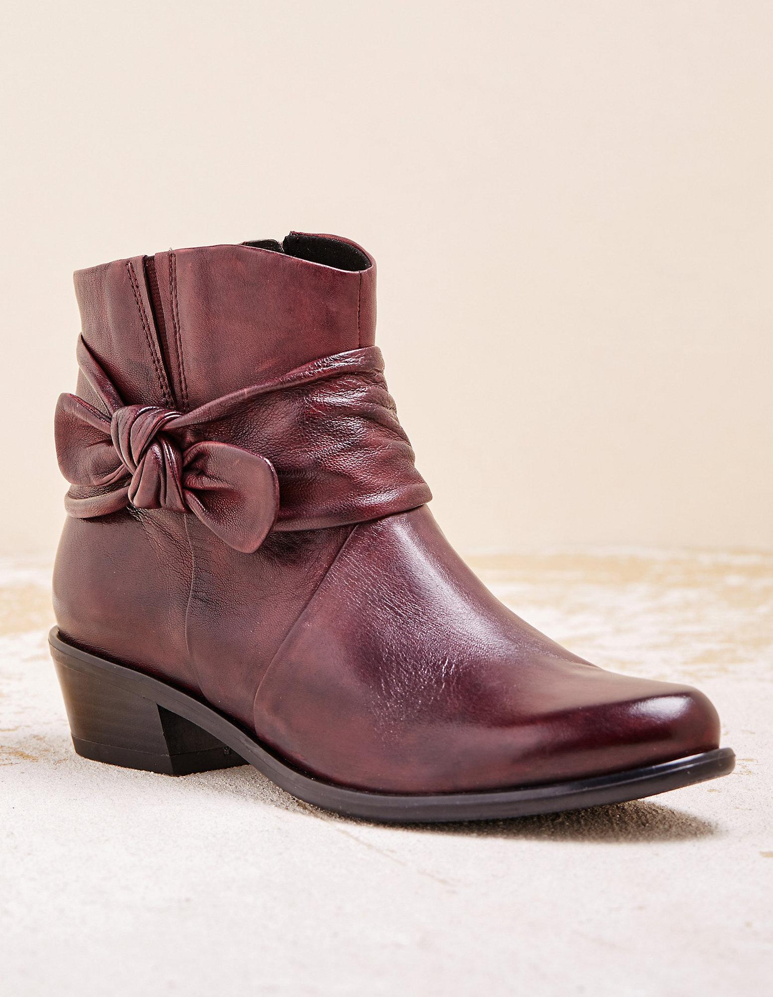Caprice Stiefeletten Bordeaux Schuhe Online Verkauf