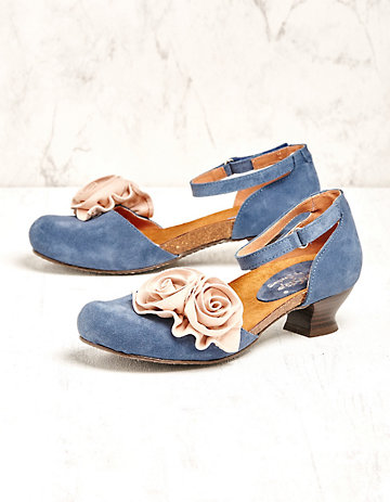 Deerberg Pumps Lauries jeansblau