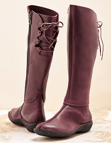 Loints of Holland Stiefel Marali weinrot