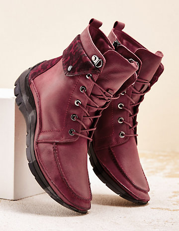 Softwaves Stiefeletten Paterna bordeaux